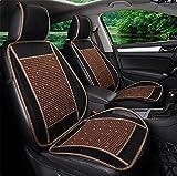 VIGKO Natural Wood Beaded Seat Cover Massaging Cool Cushion