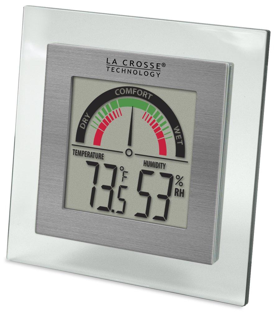 La Crosse Technology WT-137U Digital Thermometer/Hydrometer with Comfort Meter WT-137U-CBP