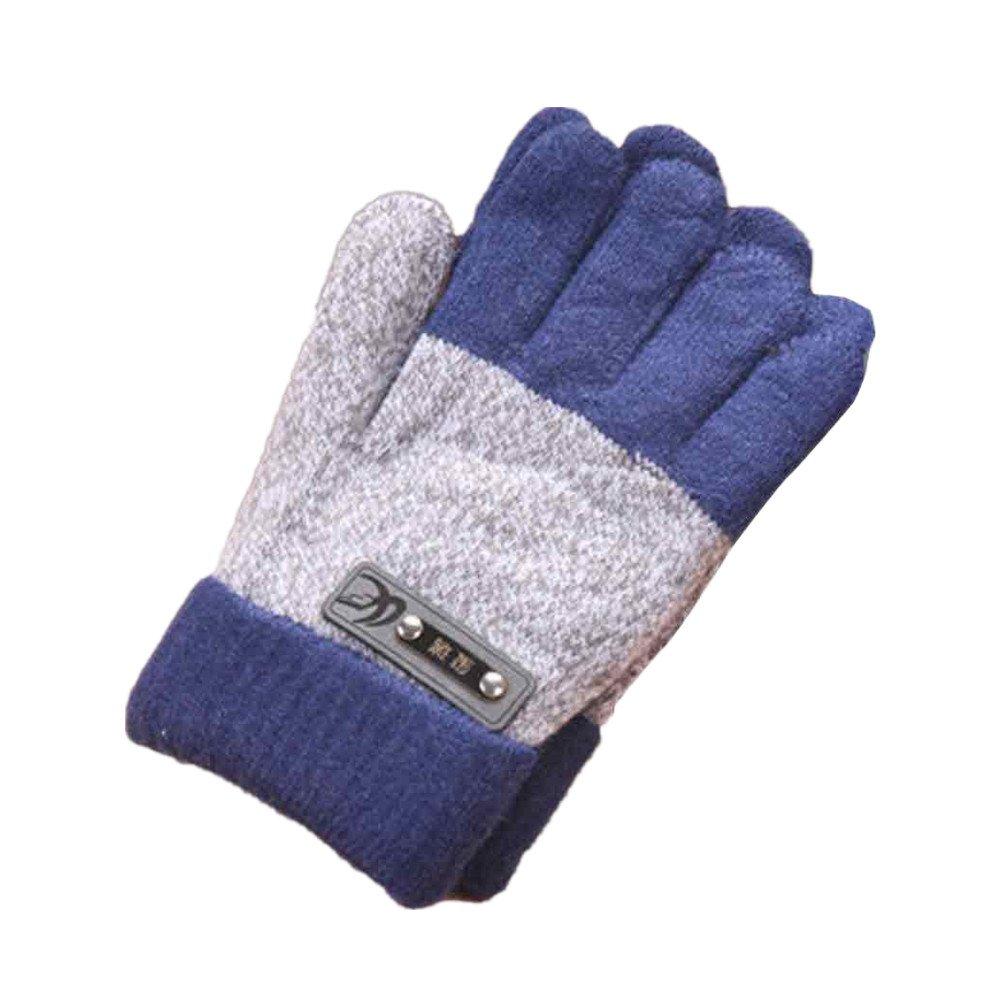 Zolimx Gloves Creative Cute Thicken Winter Infant Baby Girls Boys Toddler Children Kids Knitted Warm Mitten Zolimx-52452