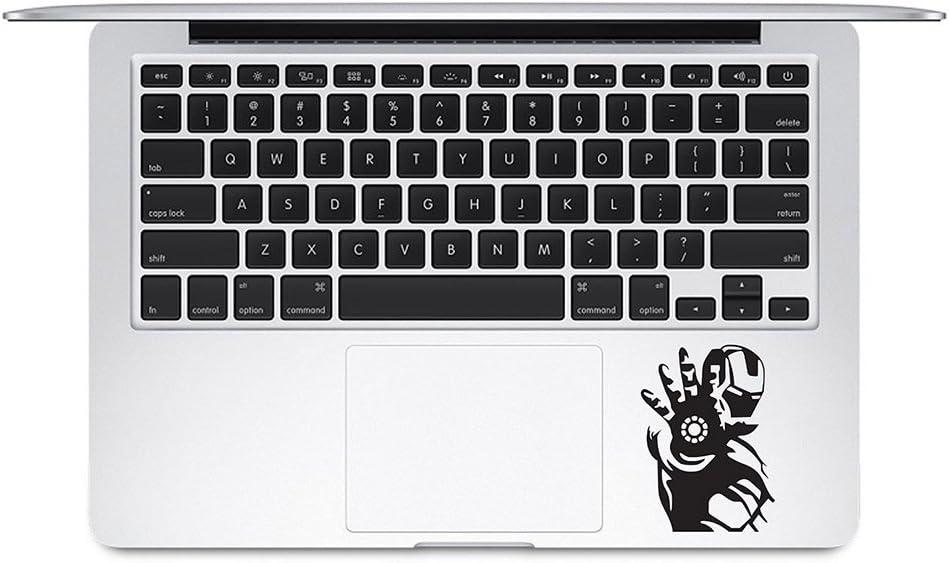 Iron Man Power Trackpad Keyboard Decal Apple Macbook Trackpad Keyboard Vinyl Decal Sticker Apple Mac Air Pro Laptop Sticker