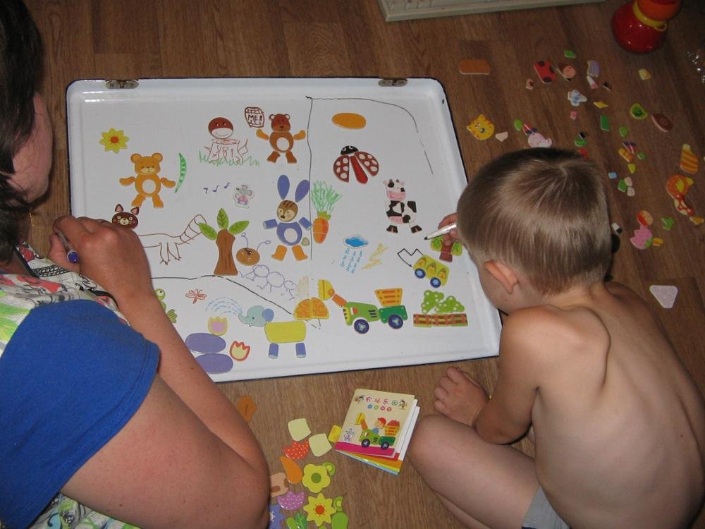 BOHS Farm Animals Magnetic Puzzle Toys for Fridge Magnets,Whiteboard, for Kids,Age 3 Above