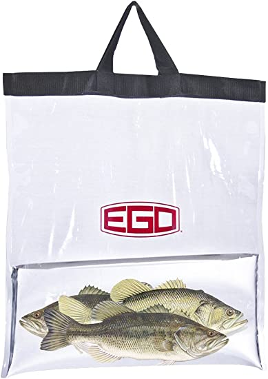Black//Clear Ego Tournament Weigh-In Bag