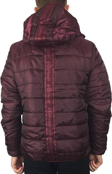 Ellesse Lombardy Jacket In Burgundy