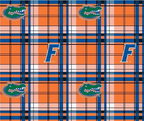Florida Gators Fleece Fabric - FLORIDA FLEECE FABRIC-FLORIDA GATORS FLEECE FABRIC-SOLD BY THE YARD