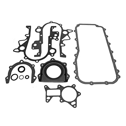 Dnj Lower Gasket Set Lgs1168 For 07 11 Jeep V6 3 8l 231 Ohv 12v
