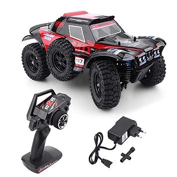 1:12 RC Coche Eléctrico, 2.4 GHz 7.4 V 1500 mAh Modelo de Control Remoto Juguete Vehículo RC Eléctrico 4WD Coche el Regalo para los Niños: Amazon.es: ...