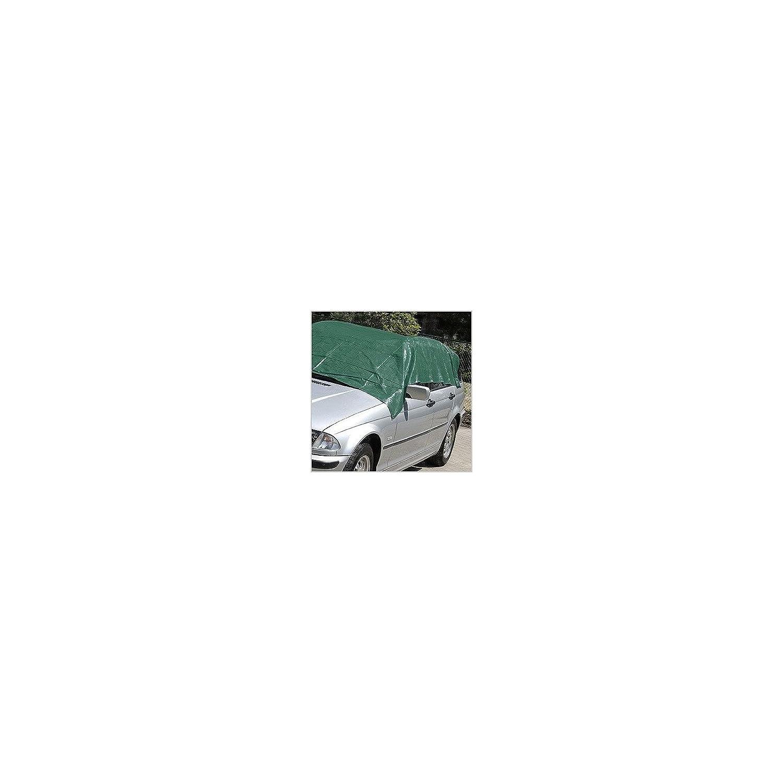 KRT660202 Gewebeplane Abdeckplane Schutzplane Unterlegplane 2 x 4 Meter Alu /Ösen 120g//m2 Farbe Gr/ün
