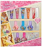 TownleyGirl Disney's Princess Beauty and the Beast Cosmetic Set with lip gloss, nail polish and nail...
