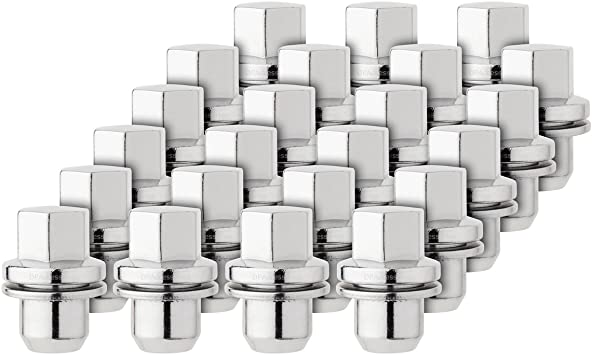 Land Rovers 23 Chrome Wheel Lug Nuts for 2006 Replaces RRD500590 RRD500510