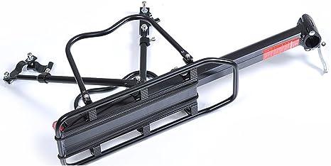 Aluminio Parrilla trasera bicicleta arrilla Portaequipajes Fácil ...