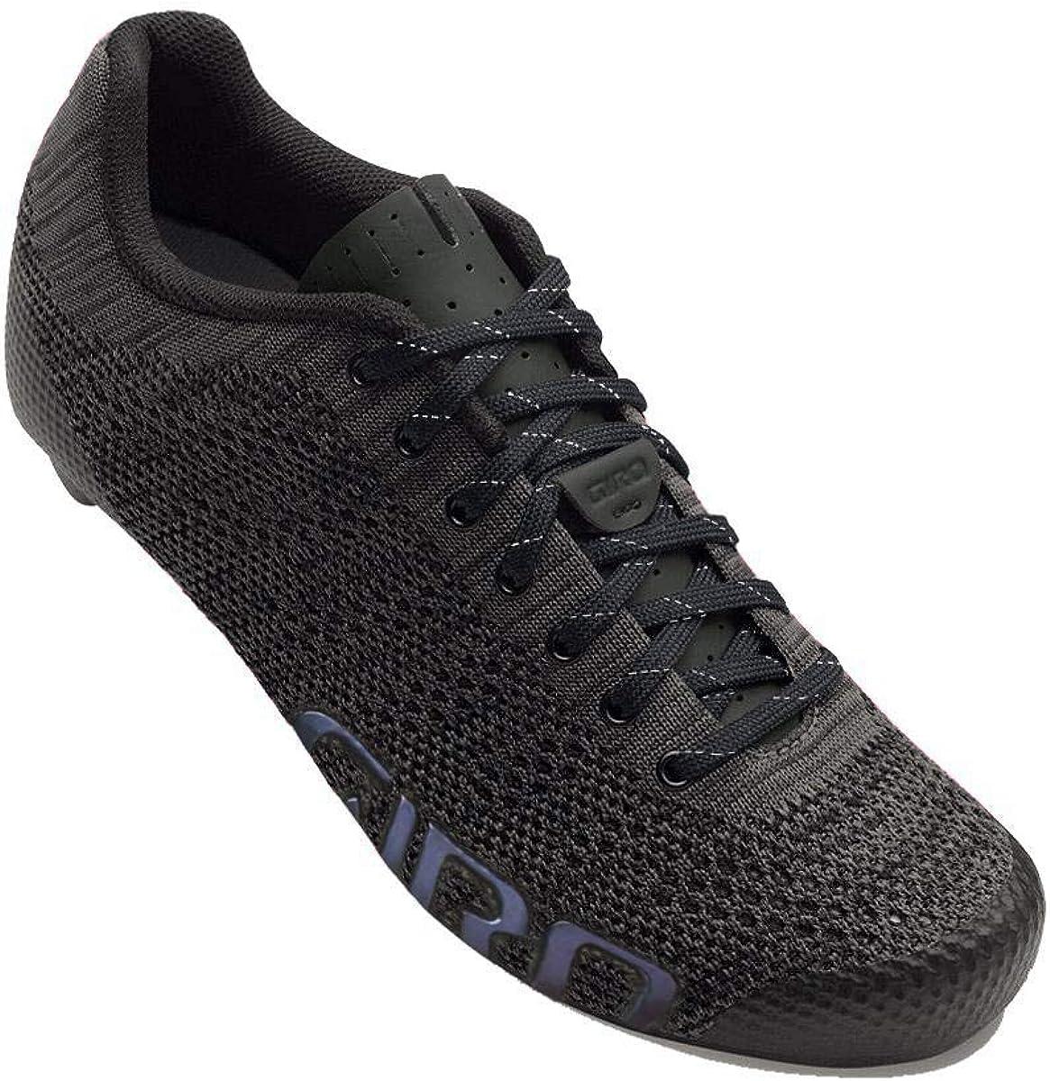 Giro Empire W E70 Knit Womens Road Cycling Shoe − 42, Black Heather (2020)