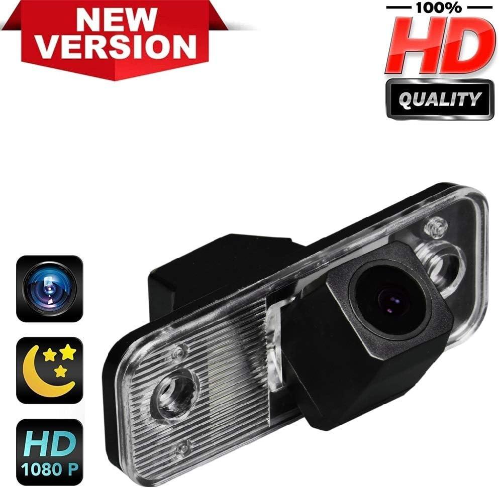 Reversing Vehicle-Specific Camera Integrated in Number Plate Light License Rear View Backup camera for Azera//Santa FE IX45//Grandeur//ix25 QINGTIAN