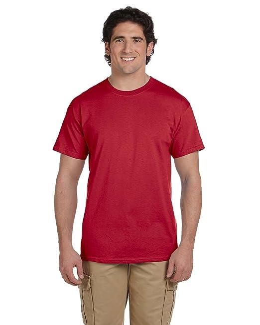 JerzeesHerren T-Shirt Rot True Red