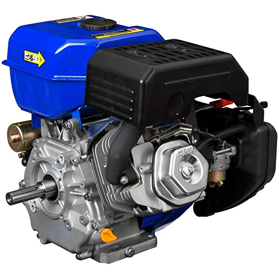 Amazon.com: DuroMax XP18HP 18 HP Recoil Start Go Kart Log Splitter Gas Power Engine Motor: Garden & Outdoor