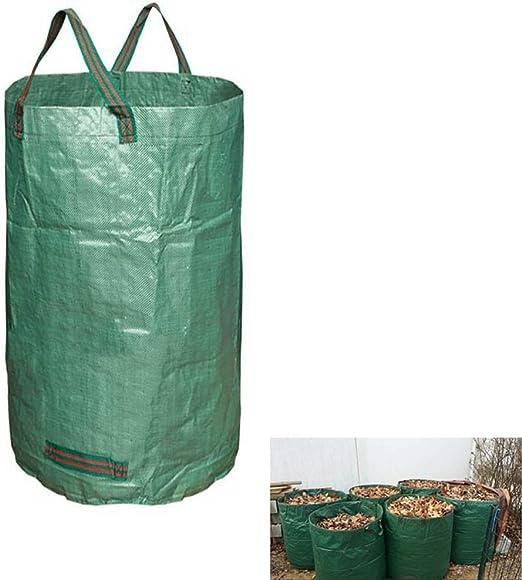 ZREAL Bolsas de jardín Bolsas de jardinería Reutilizables Reutilizables Bolsas Grandes para Hojas de césped: Amazon.es: Hogar