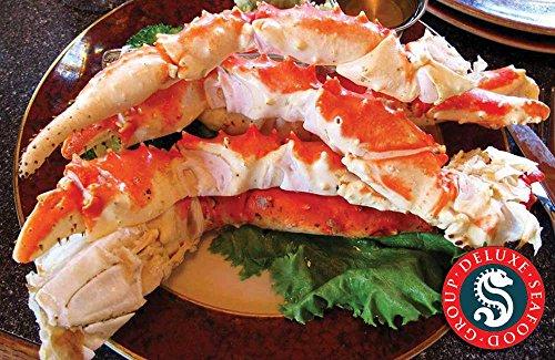 Colossal Alaskan Red King Crab Leg Clusters XXXL (15LBS)