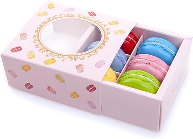 La Haute imán para nevera nevera adhesivo de macarons postre modelo Photo Props decoración de cocina con caja de regalo, juego de 6, Macaroon: Amazon.es: Hogar