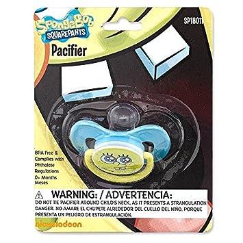 Amazon.com: Nickelodeon Spongebob Squarepants Chupete: Baby