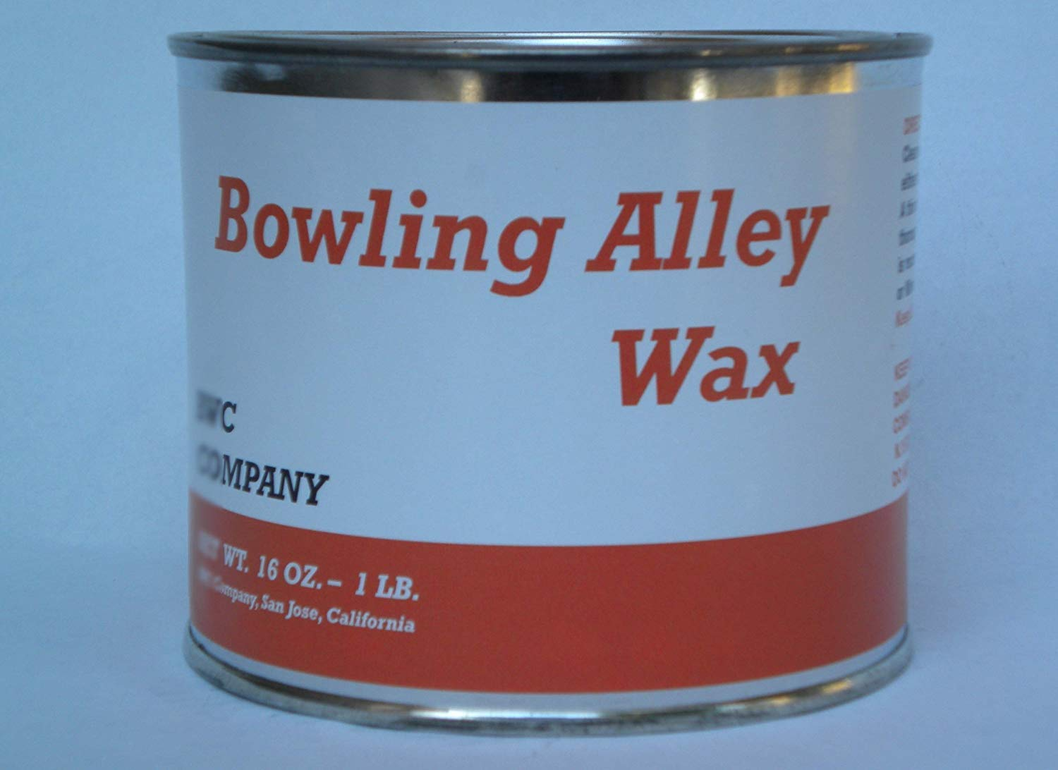 Bowling Alley Wax, Clear Paste Wax, 16 oz. Can by Bowling Alley Wax, White Diamond, Clear Paste Wax (Image #1)