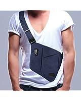 Sling Bag, Spanla Shoulder Crossbody Chest Bag Slim Backpack Waterproof Multipurpose Daypacks Lightweight Hiking Daypack for Men & Women