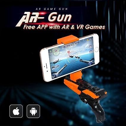 Amazon com: Ar Mobile Phone Game Virtual Gun Holder