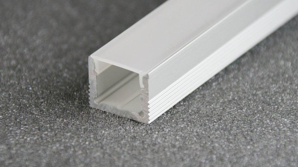 eloxiert RL#018911 LED Aluminium Profil Leiste Schiene LS-1613-2000