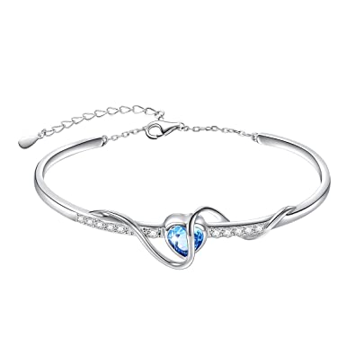 il sterling round heart gift love pave fullxfull double crisscross bangles cz silver interlocking micro solid products exnc bangle hearts diamond bracelet infinity