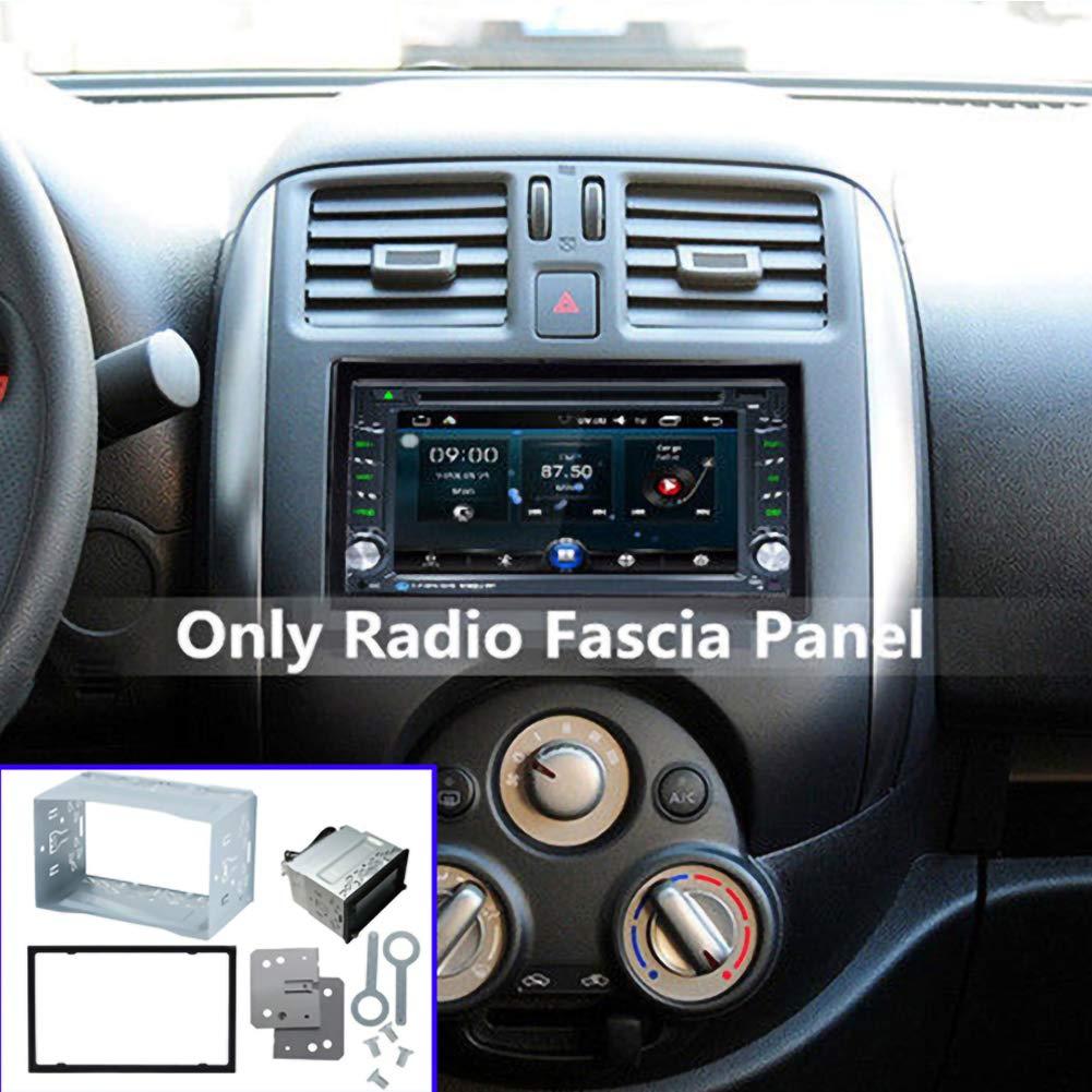 Mioloe Audio para el automóvil 2 Montaje de Radio DIN Funda para ...