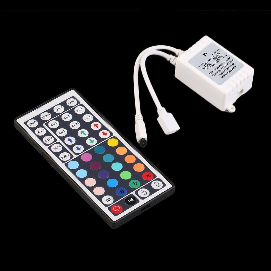 44 Key Control Box + Telecomando IR per LED RGB 5050/3528 Light Strip ToGames-FR