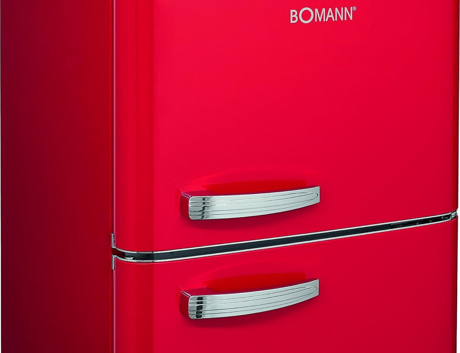 Bomann Kühlschrank Retro : Bomann dtr 353 doppeltür kühlschrank retro style eek a 208 l