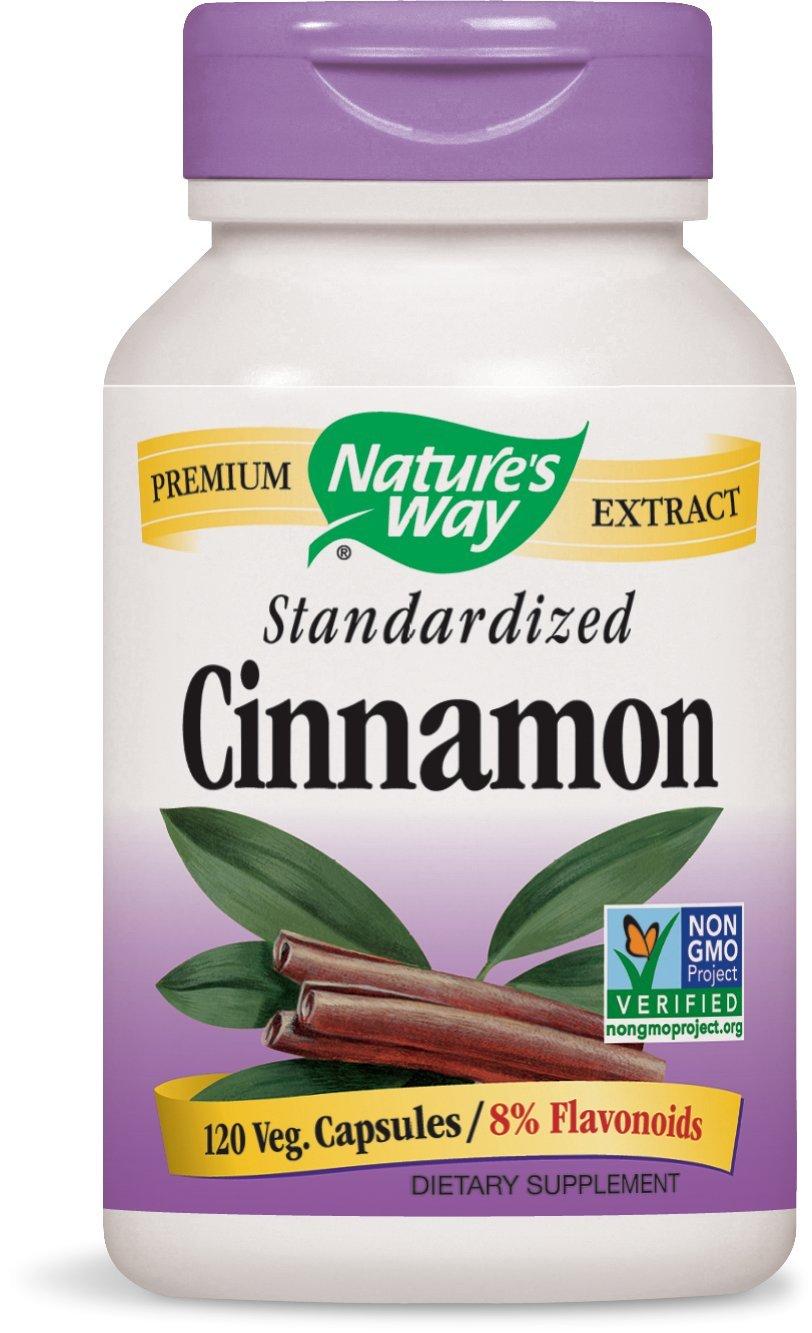 海外直送品 Nature's Way Cinnamon, 120 VCAP B00142CIEE