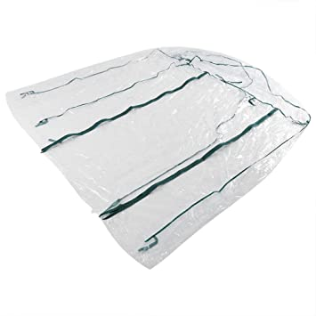 Asixx Invernadero, Plástico Invernadero, Invernadero Caseta, Invernadero de Jardín, Sin Estantes, de Material de PVC, para Usar En El Jardín: Amazon.es: ...