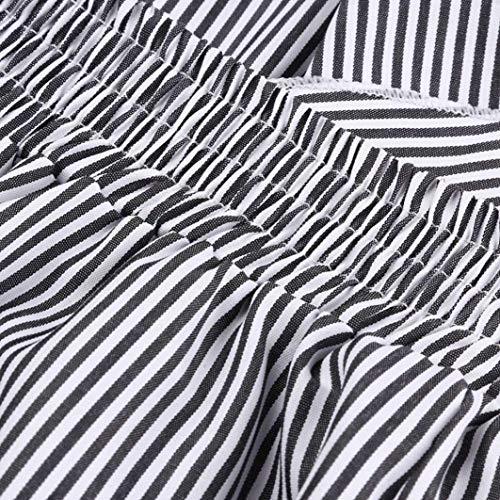 Stripe Donna Alta Cintura Per Super Lunghi colore Il Qualità Elegante Flowy Larga Moda Vita L Accogliente Tesa Tempo Pantaloni Libero Da Taglia Gamba Con Cerniera Mehrfarbig4 r5fOYcrRqW