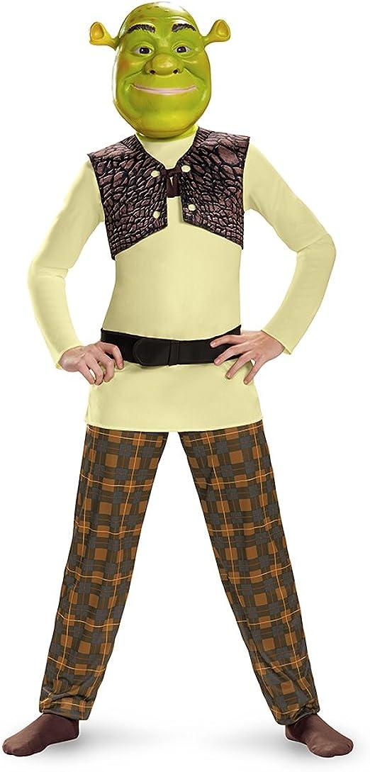 Amazon Com Disguise Shrek Classic Costume Small 4 6 Clothing