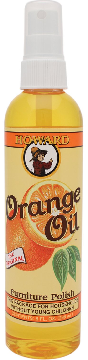 Howard Products OR0008 Orange Oil Wood Polish, 08 oz