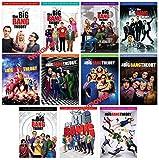 The Big Bang Theory Complete Series Seasons 1-11 Season 1 2 3 4 5 6 7 8 9 10 11