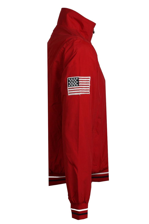Alex Sailing jacket -red