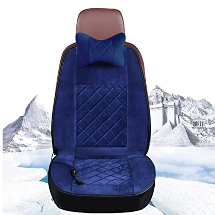 CAR Car Seat Cover Heater Heating Pads Cushion 12V Universal Household Heater Warmer, blue