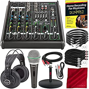 mackie profx8v2 8 channel compact mixer with built in usb interface and effects. Black Bedroom Furniture Sets. Home Design Ideas