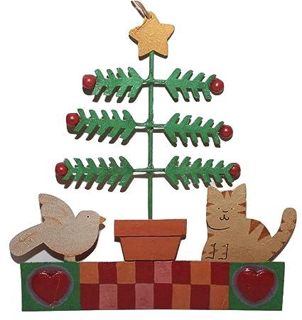 Amazon.com: Tomie dePaola Midwest Metal Christmas Ornament Folk Art Tree  Bird Cat: Home & Kitchen - Amazon.com: Tomie DePaola Midwest Metal Christmas Ornament Folk Art