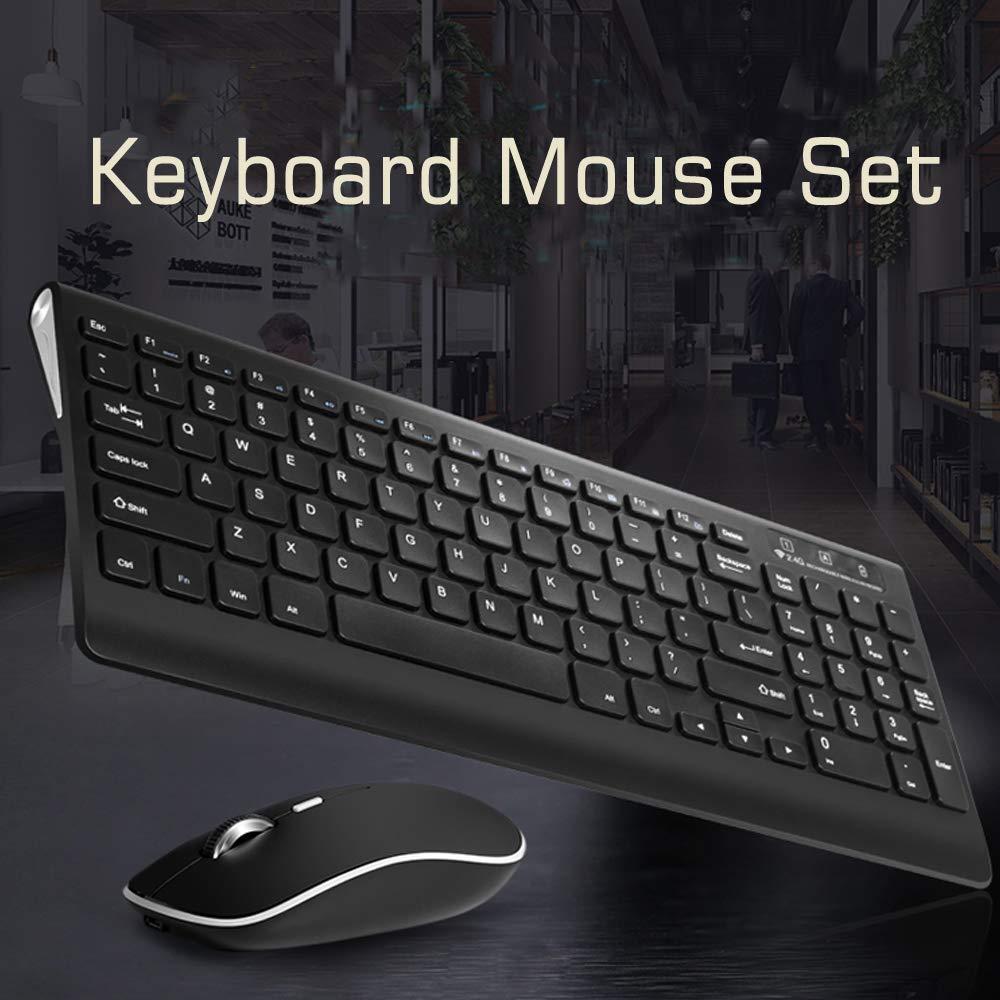 Amazon Com Soundance Wireless Keyboard Mouse Combo 2 4g Portable