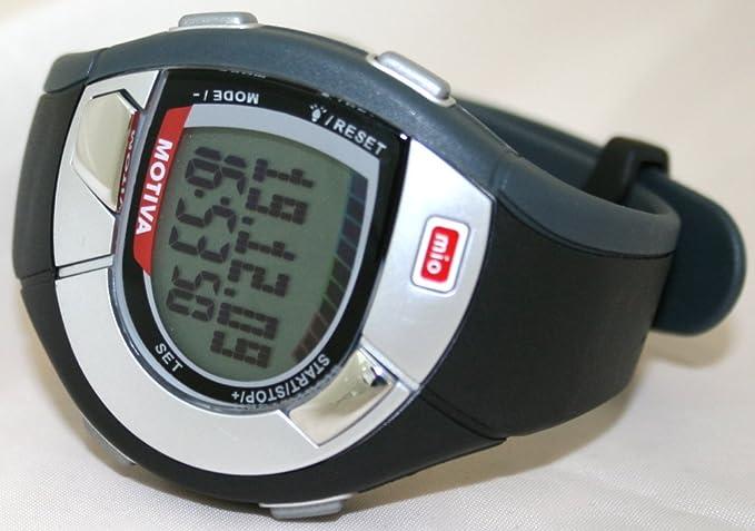 amazon com mio 0016usblk2 motiva strapless heart rate watch rh amazon com Mio Breeze Mio Motiva Petite Manual