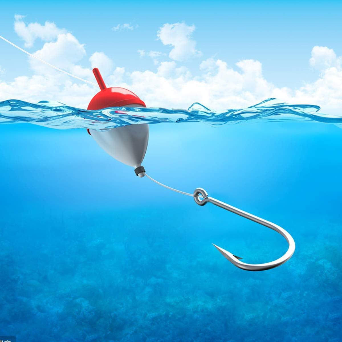 Carp Circle Hooks with Storage Box for Freshwater Saltwater Fish Trackle 3#-12# Barbed Hooks 500PCS Fishing Hook Carbon Steel Eyed Sea Fish Hooks
