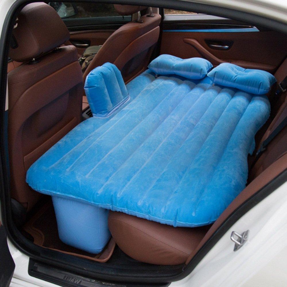 Car bed HUO Auto-Luft-Bett mit Kopfschutz Multifunktions Aufblasbare Matratze Outdoor Camping Angeln