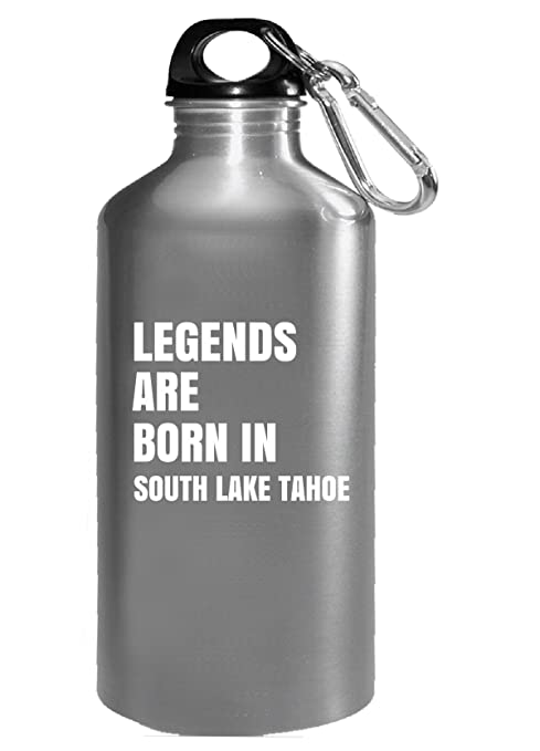 Legends Are Born In South Lake Tahoe Cool Gift   Water Bottle