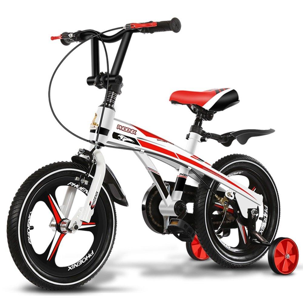 子供用自転車、乳児用乳母車、自転車、マウンテンバイク、子供用自転車 ( 色 : White red , サイズ さいず : 85*38*64cm ) B078KXNBQWWhite red 85*38*64cm