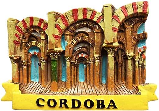 Wedare 3D - Imán de nevera de Córdoba, España, estilo mezquita ...