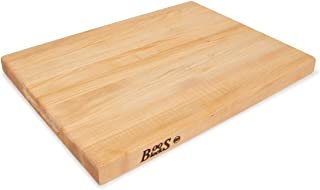 product image for John Boos Block R03 Maple Wood Edge Grain Reversible Cutting Board, 20 Inches x 15 Inches x 1.5 Inches