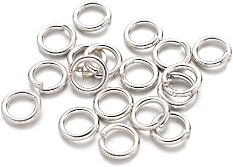50g Nickel Free 10mm Antique Bronze Close but Unsoldered Iron Jump Rings Finding