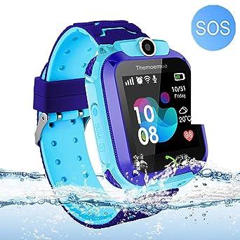 Reloj Inteligente para niños con GPS y Alarma antipérdida ...